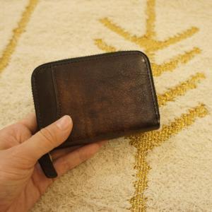 TOPANGA BAG カード&ビルコンパクトウォレット チョコ|abracadabra