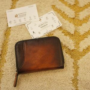 TOPANGA BAG カード&ビルコンパクトウォレット ブラウン|abracadabra