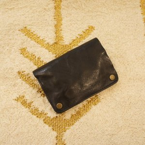 TOPANGA BAG パラグラフ2つ折り財布 ブラック|abracadabra
