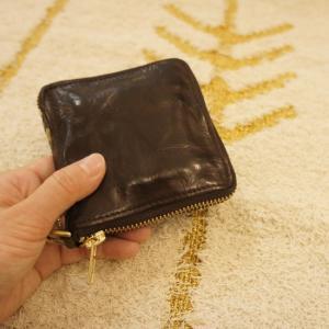TOPANGA BAG ZIP2つ折り財布 チョコ|abracadabra