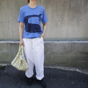 ハンドプリントTシャツ くじら|abracadabra