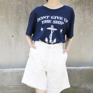 IRON TREE ハンドプリントTシャツ アンカー|abracadabra