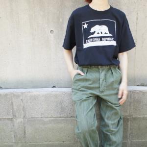 ハンドプリントTシャツ カリフォルニア|abracadabra