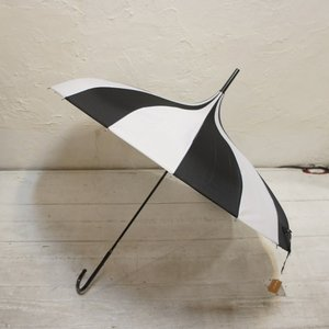 TOPANGA FASHION サーカステントパゴダ雨傘 ストライプ abracadabra