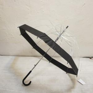 TOPANGA FASHION プリンセスドームクリア雨傘 ライン|abracadabra