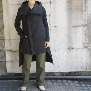 Topanga Fashion アーバンキルティングコート ブラック|abracadabra