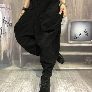 Topanga Fashion コーデュロイボンタン ブラック abracadabra