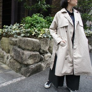 TISSU High Density Effortless Trench ベージュ|abracadabra