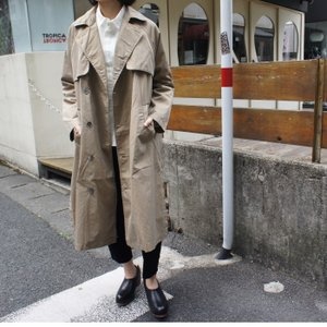 TISSU High Density Effortless Trench キャメル|abracadabra