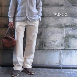 V.D.L.C ブイディーエルシー コットンワークパンツ オフホワイト|abracadabra