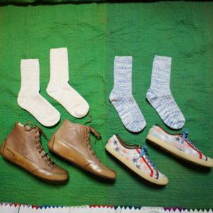 H FOOTWEAR WOOL  RETOUR リサイクルコットンソックス 全4色|abracadabra