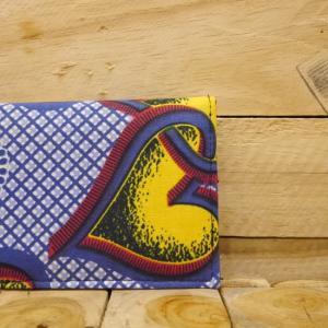 アフリカンバティック二つ折り長財布|abracadabra