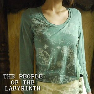 THE PEOPLE OF THE LABYRINTHS ラップ長袖カットソー ブルーグリーン|abracadabra