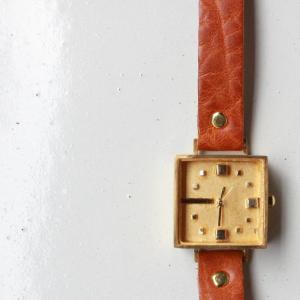 Arty Arty Japan ハンドメイドウォッチ Caramel 約1ヶ月でお届け|abracadabra