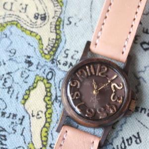 Arty Arty Japan KS RETORO SCANDAL Boys レトロスキャンダル真鍮腕時計 ボーイ ベージュ|abracadabra