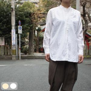 Bohemiano ボヘミア 薄手シーチングブラウス 白/生成|abracadabra