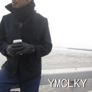 YMCLKY(ワイエムシーエルケーワイ)イタリアタイプピーコート ネイビー|abracadabra