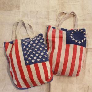 USAフラッグトトートバッグ 全2種|abracadabra