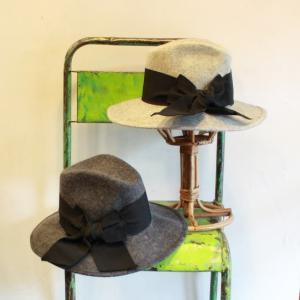 Italian Hat Company グランデリボン中折れハット 全2色|abracadabra
