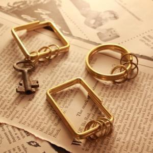 Brass Key Holder ブラスキーホルダー 全3種|abracadabra