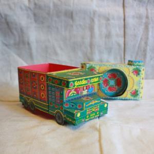 ペーパークラフトギフトボックス カメラ/トラック/バルーン|abracadabra
