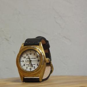 ArtyArty Japan KS Castel キャッスル手作り腕時計 ブラック 約1ヶ月でお届け|abracadabra