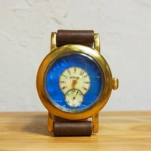 ArtyArty Japan ARAKI Sly シェル文字盤手作り腕時計 約1ヶ月でお届け|abracadabra
