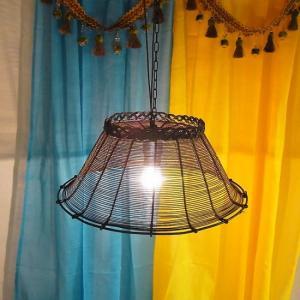 アイアンバスケットランプ|abracadabra