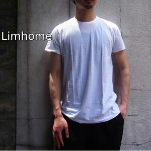 Limhome Japan コットン半袖Tシャツ ホワイト|abracadabra