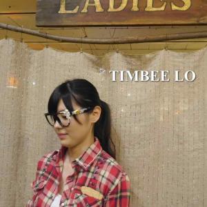 TIMBEE LO Hong Kong 天使のメガネ ブラック|abracadabra