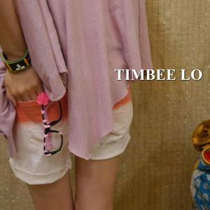 TIMBEE LO Hong Kong ローズメガネ ピンク|abracadabra