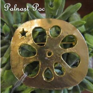 Palnart Poc パルナートポック ロータスルートブローチ|abracadabra