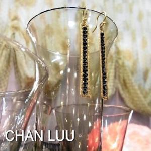 CHAN LUU チャンルー  ブラックダイヤモンドピアス|abracadabra