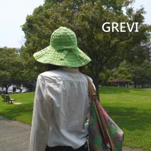 GREVI(グレヴィ) グランデブレードハット グリーン|abracadabra