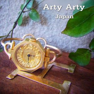 Arty Arty Japan BRASS LADY オクタゴン 真鍮腕時計 約1ヶ月でのお届け|abracadabra
