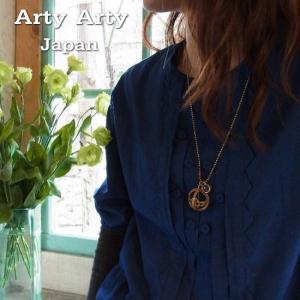 Arty Arty Japan KS 円還型日時計ペンダントネックレス KP-50B|abracadabra