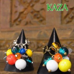 KAZA(カザ) カラフルビーズリング 全2色|abracadabra