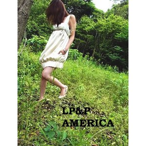 LP&P(エルピーアンドピー) リボンバルーンドレス ピンク|abracadabra