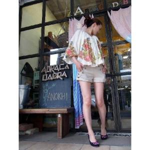 LP&P リネンストライプショートパンツ|abracadabra