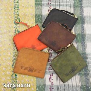 SARANAM サラナン プエブロレザーコンパクトコインケース 全5色|abracadabra