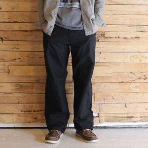 LOLO ロロ 高密度ダンプ パンツ ブラック|abracadabra