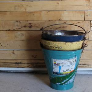 リサイクルアイアンバケツ Lサイズ|abracadabra