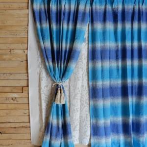 サンディカーテン 100x200cm ブルー|abracadabra