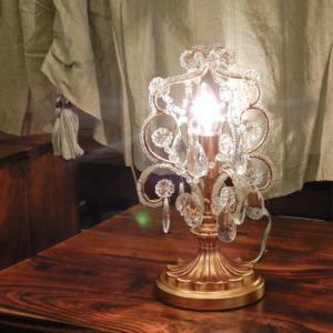テーブルシャンデリア クリアゴールド|abracadabra