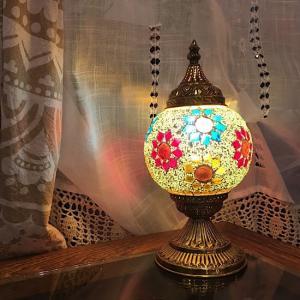 モザイクスタンドランプ ボール|abracadabra