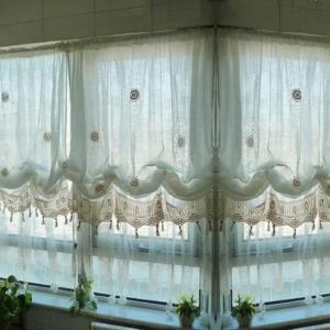 クロシェレースバルーンカーテン 全2種|abracadabra