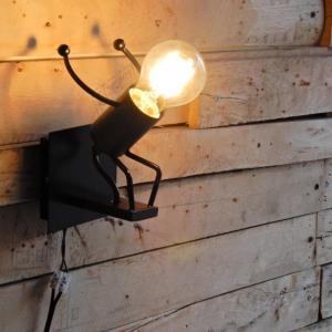 TOPANGA ヒューマンブラケットランプ ジャンプ|abracadabra