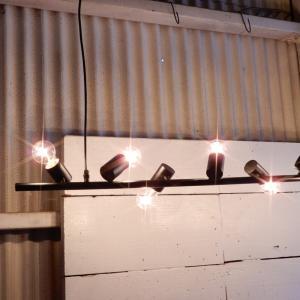 アイアン10灯ランプ ワイド|abracadabra
