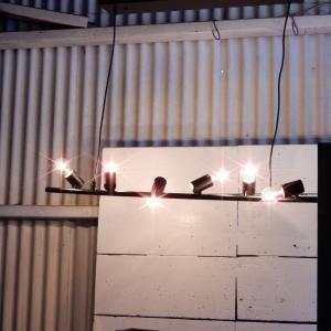 アイアン6灯ランプ ワイド|abracadabra