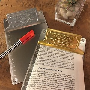 Metal clip board 全2種|abracadabra